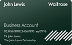 John Lewis Business Account Card