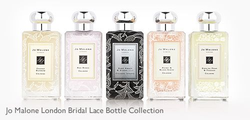 Jo Malone London Bridal Lace Bottle Collection