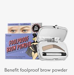 Benefit fullproof brow powder