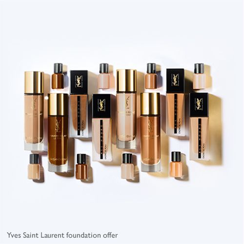 Yves Saint Laurent foundation offer