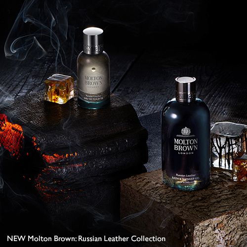 NEW Molton Brown: Russian Leather Collection