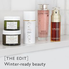 [THE EDIT] Winter-ready beauty