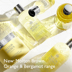New: Molton Brown Orange & Bergamot range