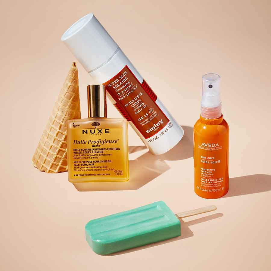 Time to choose your desert island essentials - Summertime Beauty