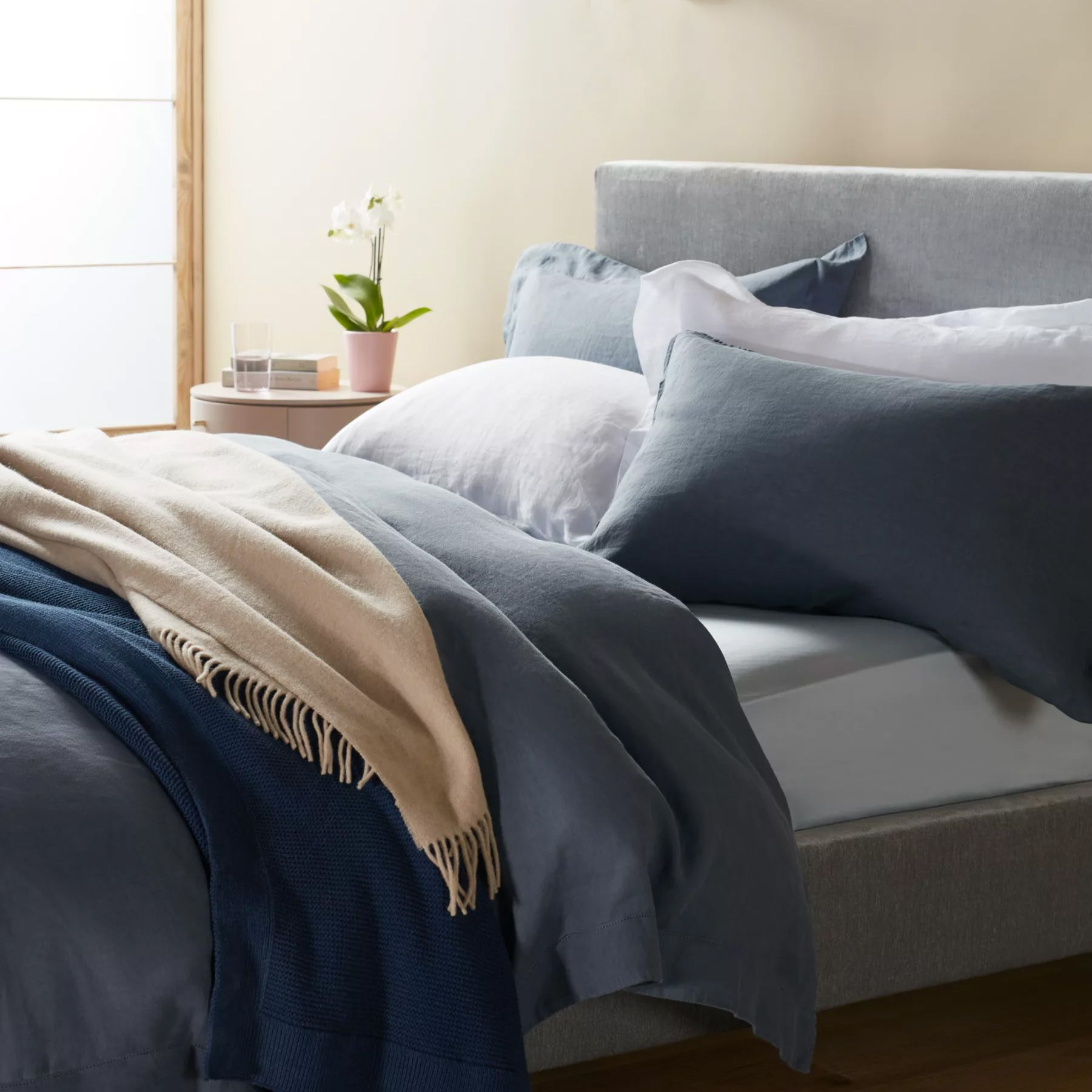 Enjoy sweet slumbers with the perfect duvet and pillow