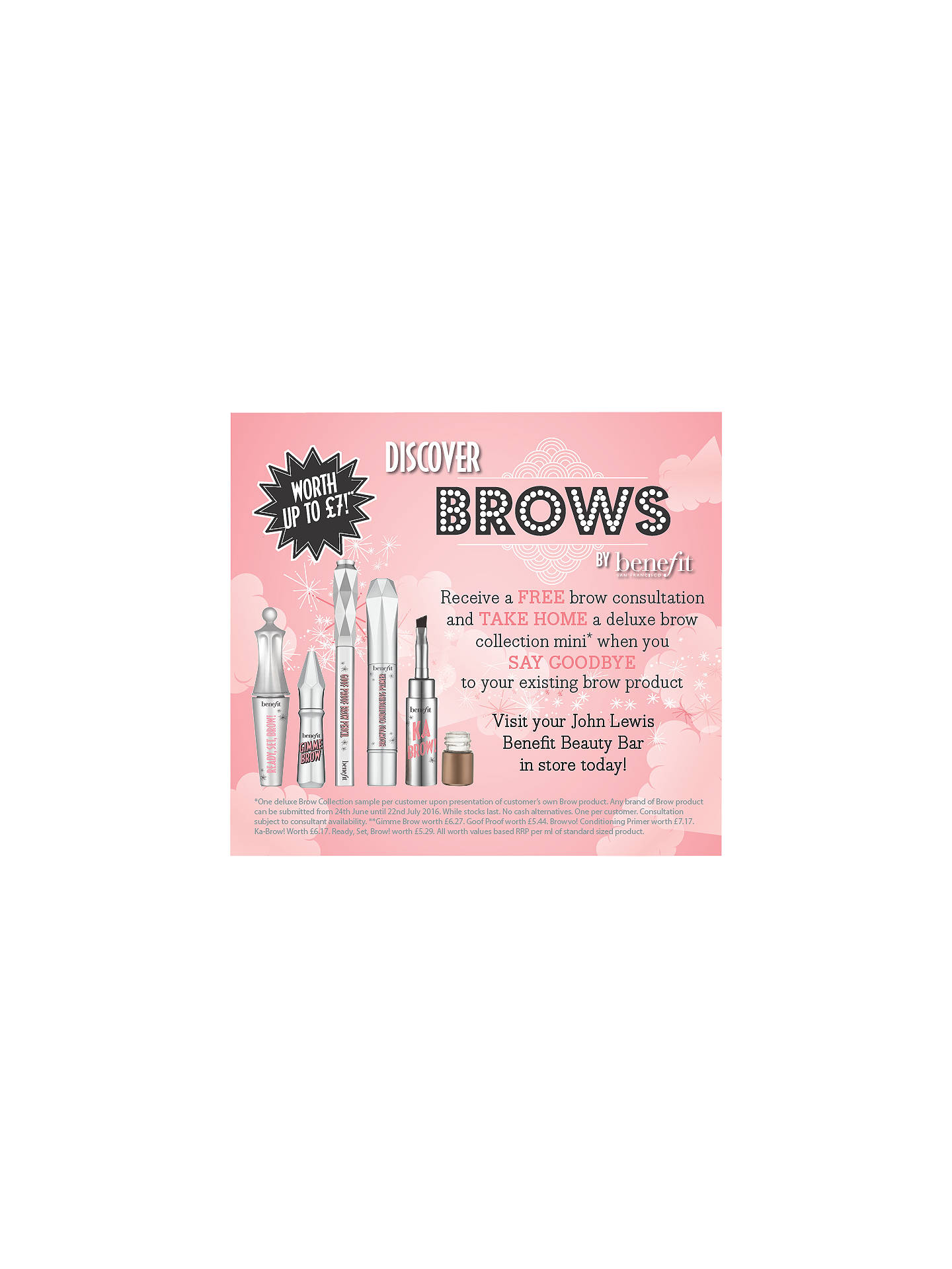 BuyBenefit Brow Zings Eyebrow Shaping Kit, 01 Light Online at johnlewis.com