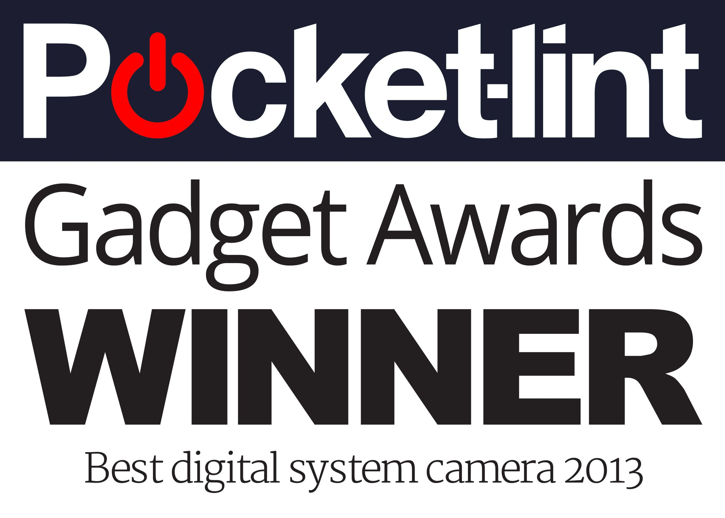 Pocket-lint Gadget Awards Winner Best digital system camera 2013