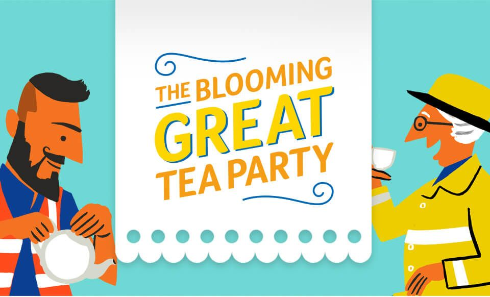 The Blooming Great Tea Party