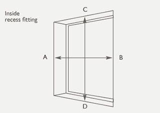 made to order curtains measuring guide. Black Bedroom Furniture Sets. Home Design Ideas