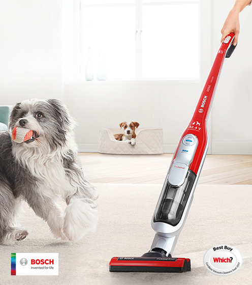 Bosch Ultimate Pet Cordless upright cleaner