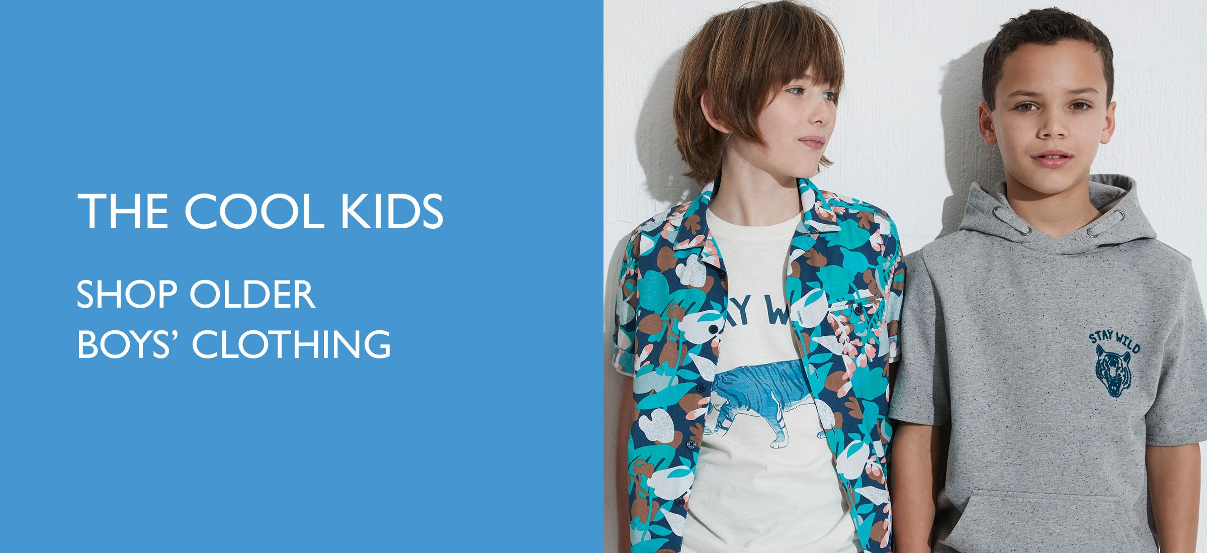 The Cool Kids - Shop older boys' clothing