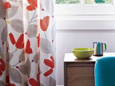 Made-to-order curtains
