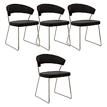 Buy Calligaris New York Dining Chair Black Online at johnlewis.com