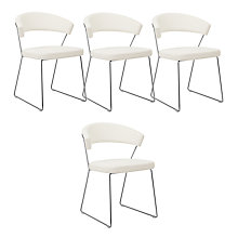 Buy Calligaris New York Dining Chair White Online at johnlewis.com
