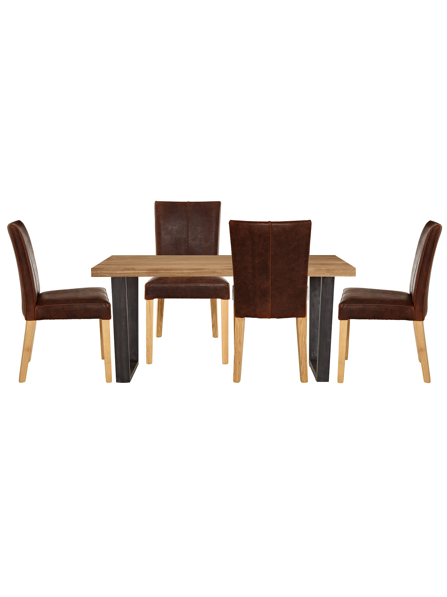 BuyJohn Lewis & Partners Calia 6 Seater Dining Table, Oak Online at johnlewis.com
