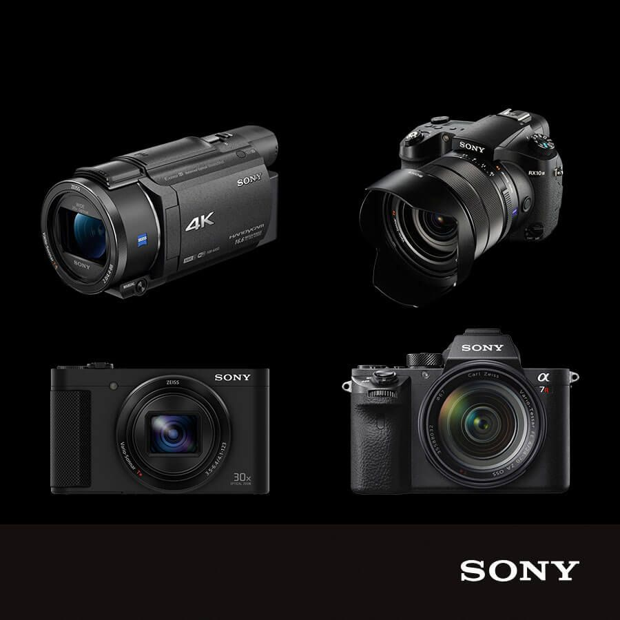 Save up to £200 off selected Sony cameras