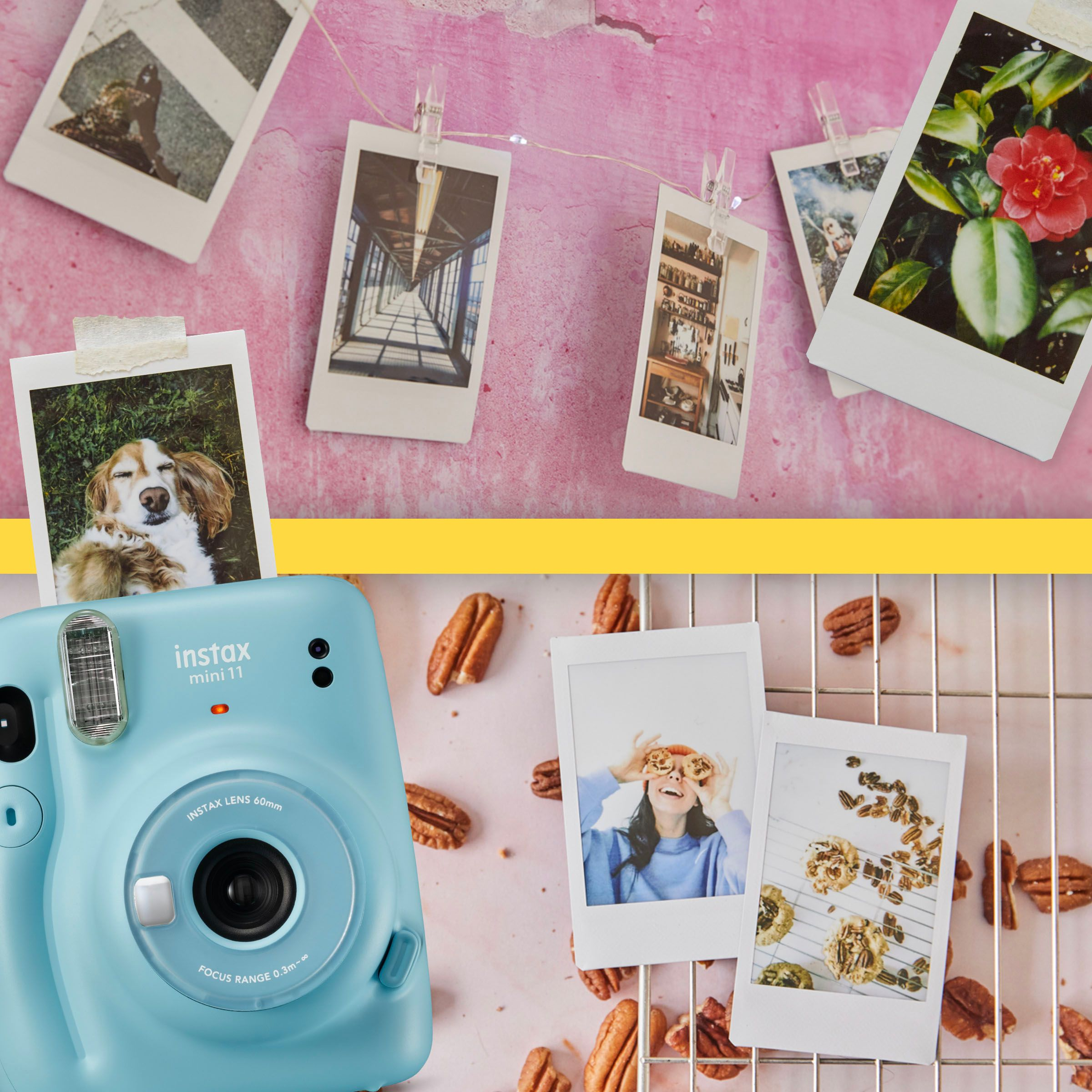 Stay at home with Instax