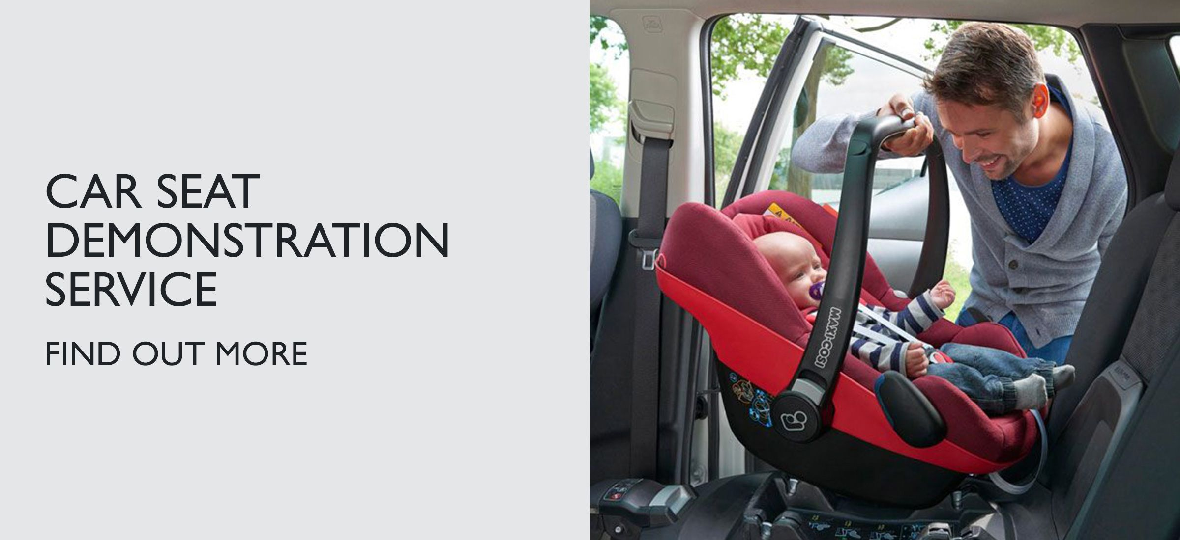 CAR SEAT DEMONSTRATION SERVICE