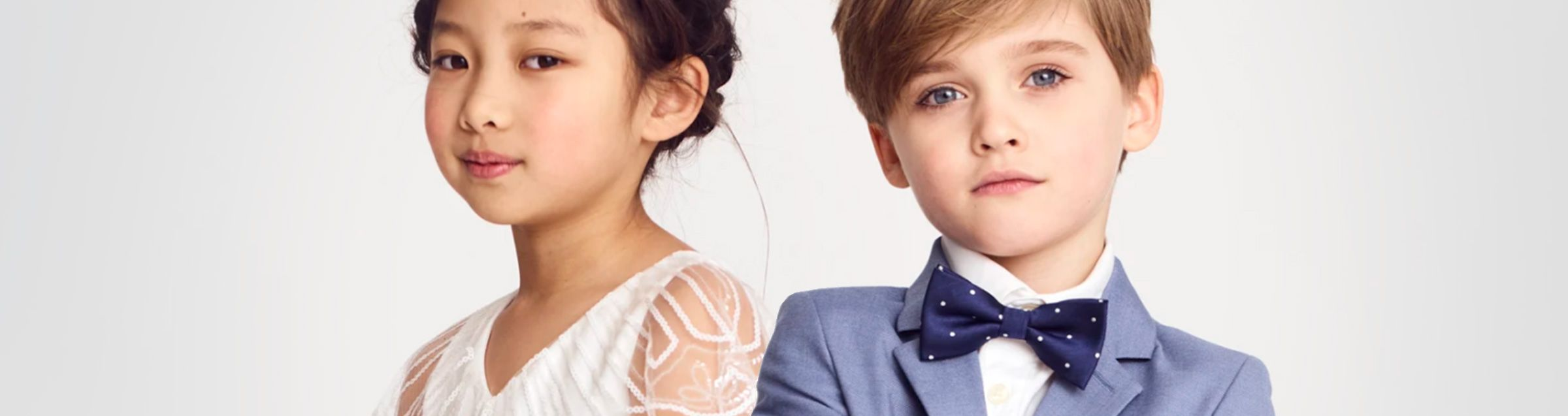 Children's wedding fashion