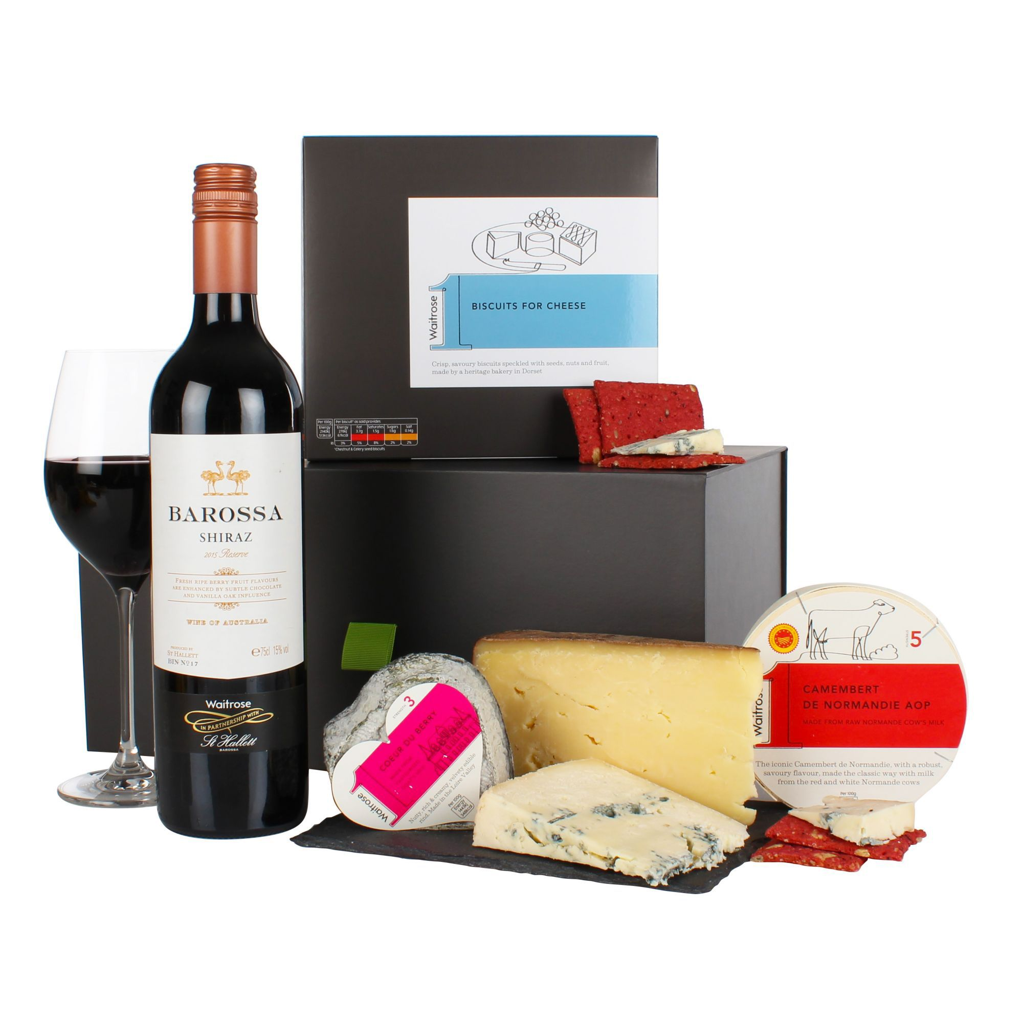 Christmas top 5 christmas hampers waitrose 1 chees wine gift box solutioingenieria Gallery
