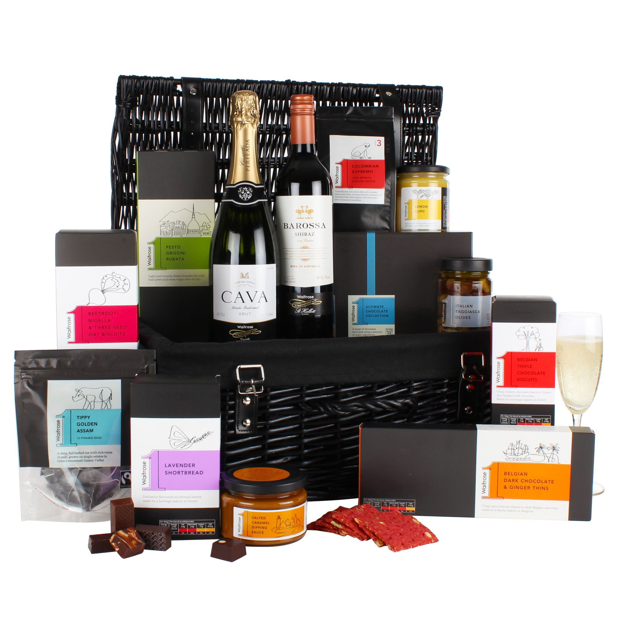 Christmas top 5 christmas hampers waitrose 1 indulgent hamper solutioingenieria Gallery