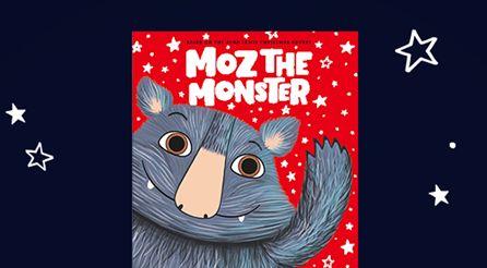 Moz the Monster merch