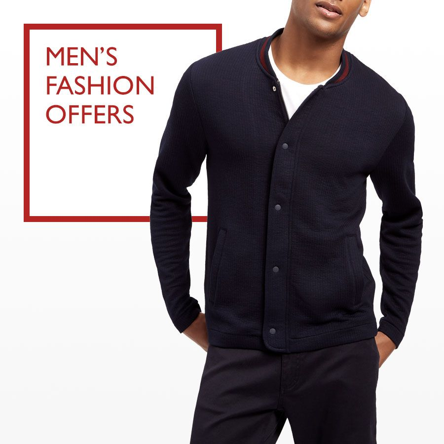Men's fashion offers