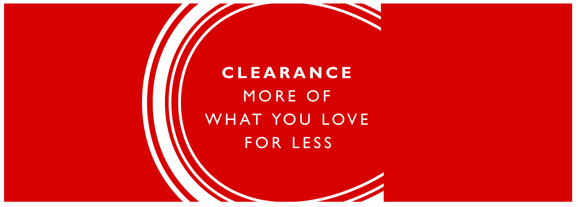 7dd6dbeed Clearance   Offers