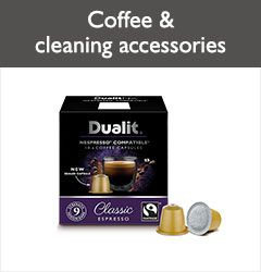 Coffee and cleaning accessories