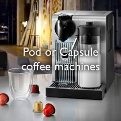 View all Pod and Capsule machines