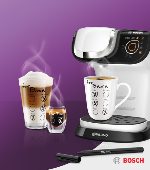 Tassimo and Bosch coffee machine