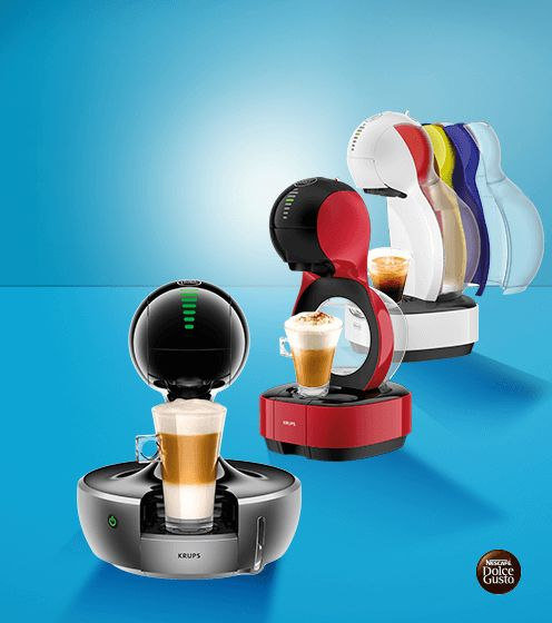 Nescafe Dolce Gusto coffee machines