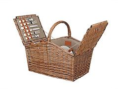 John Lewis  Croft Collection Filled Hamper