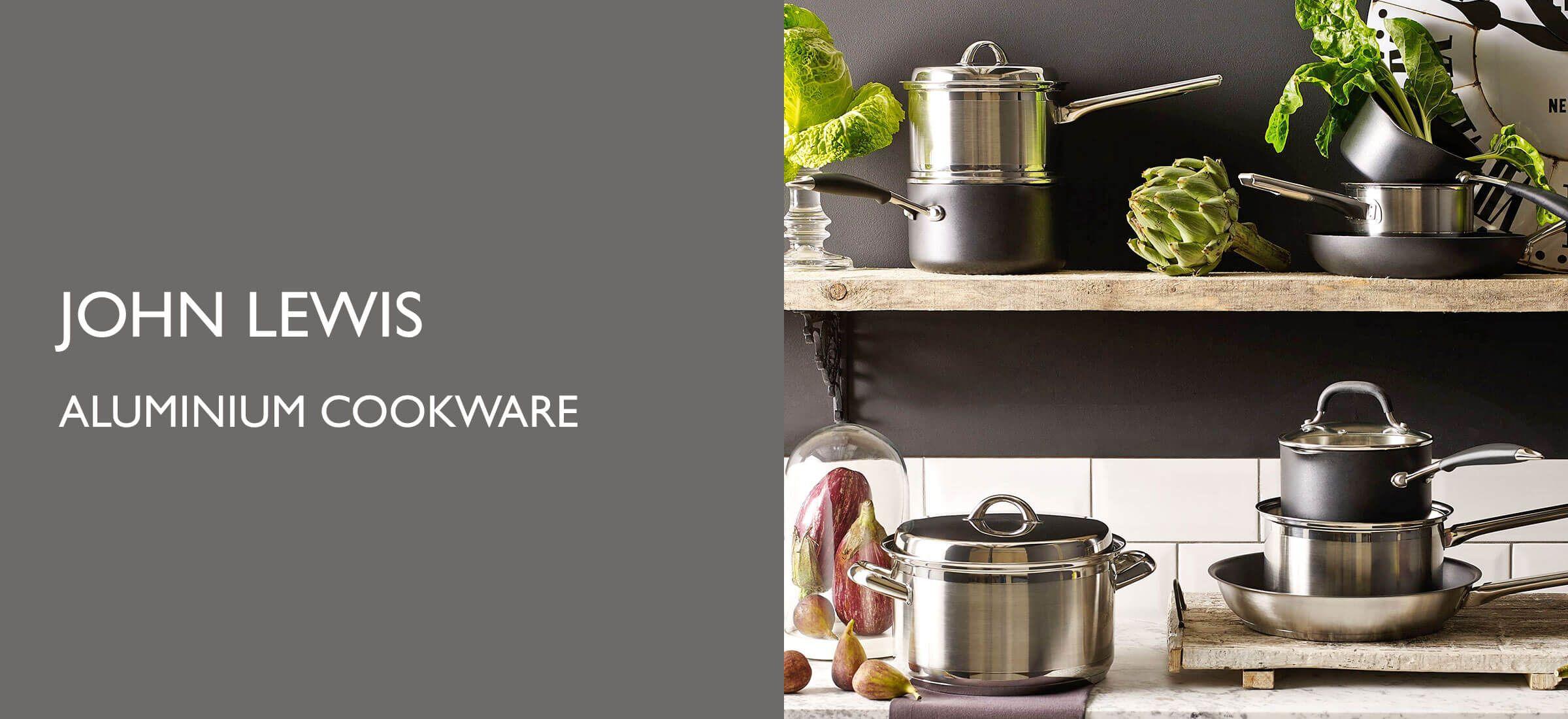 Cookware  Pans, Utensils, Bread Bins, Scales & Knives  John