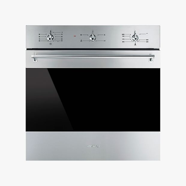 an example of an integrated gas oven