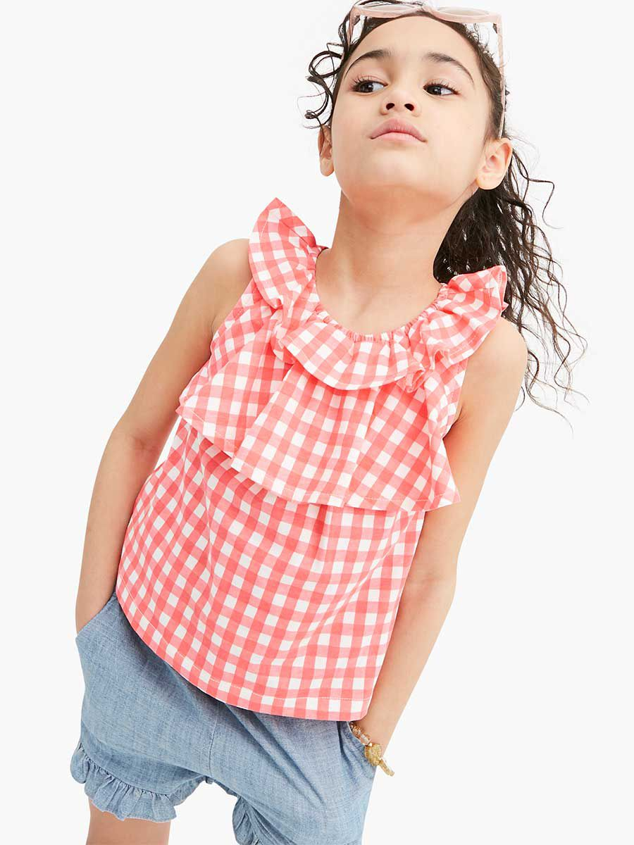 Intelligent 2018 New Toddler Girl Clothes Autumn Back To School Outfits Kids Teenager Girls Clothes 10 12 Years Plaid Shirts Mother & Kids Pants New Varieties Are Introduced One After Another