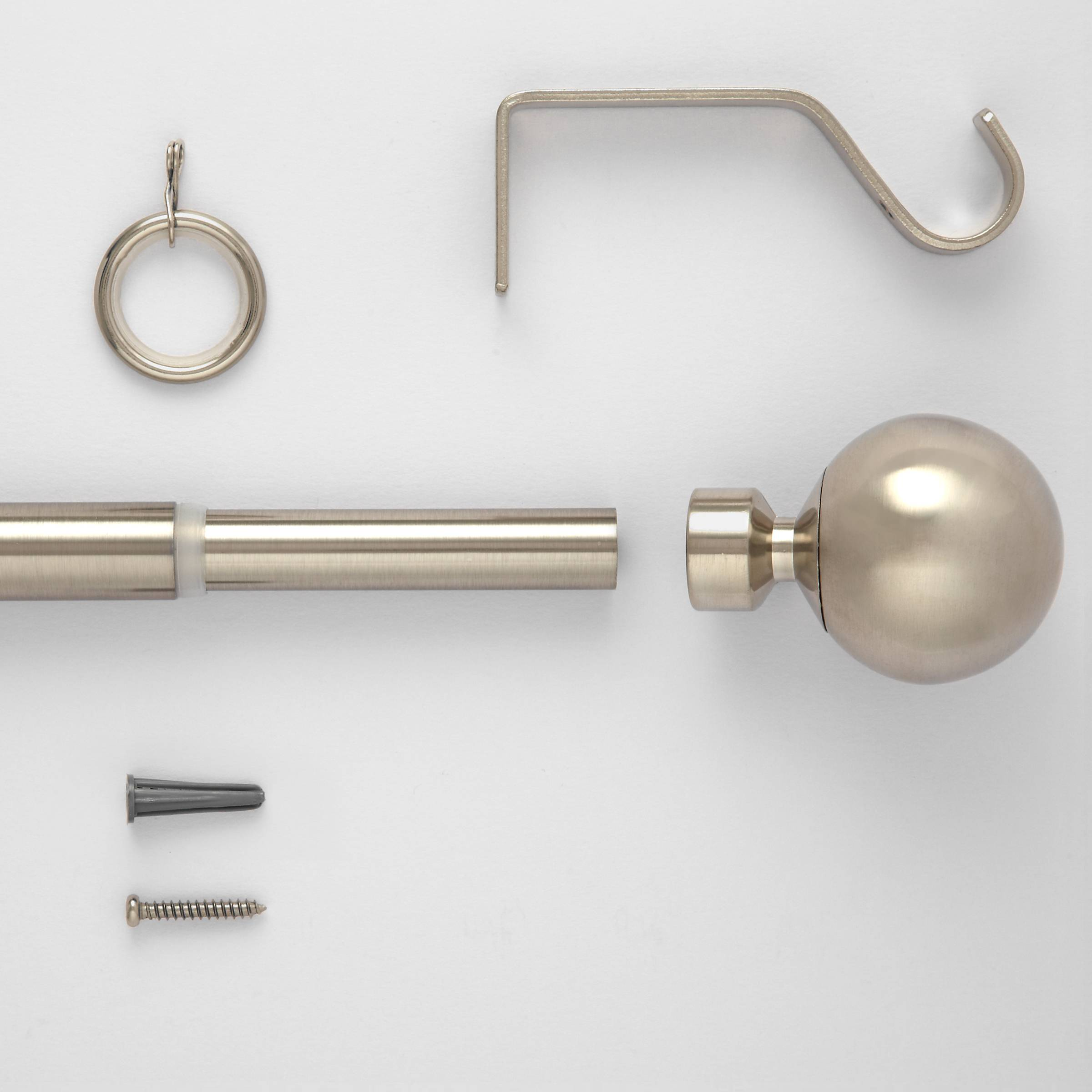 Curtain pole kits