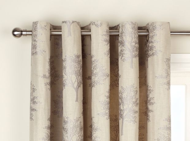 Oakley Trees Lined Curtains