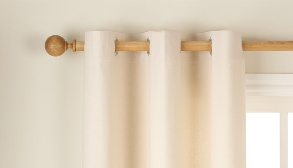 The Basics Plain Cotton Curtains
