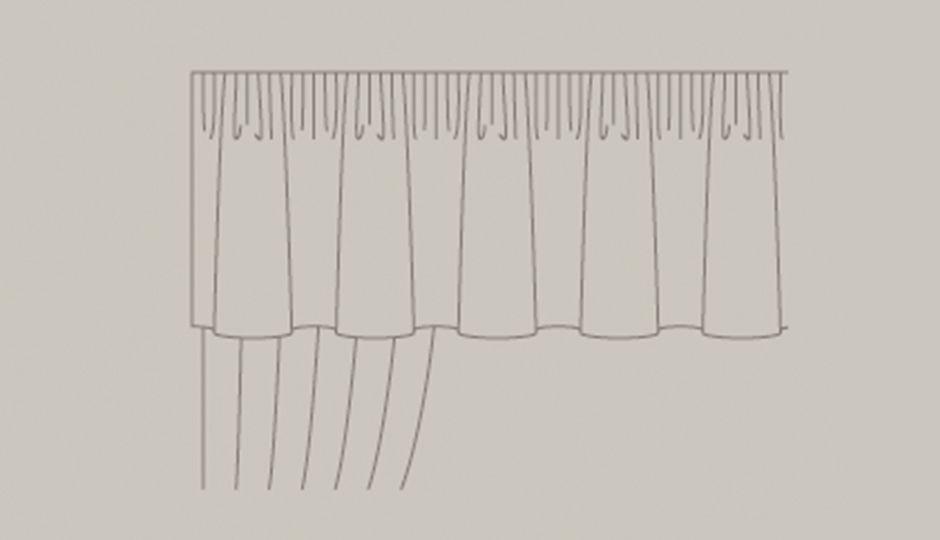 Curtain Valance Ilration