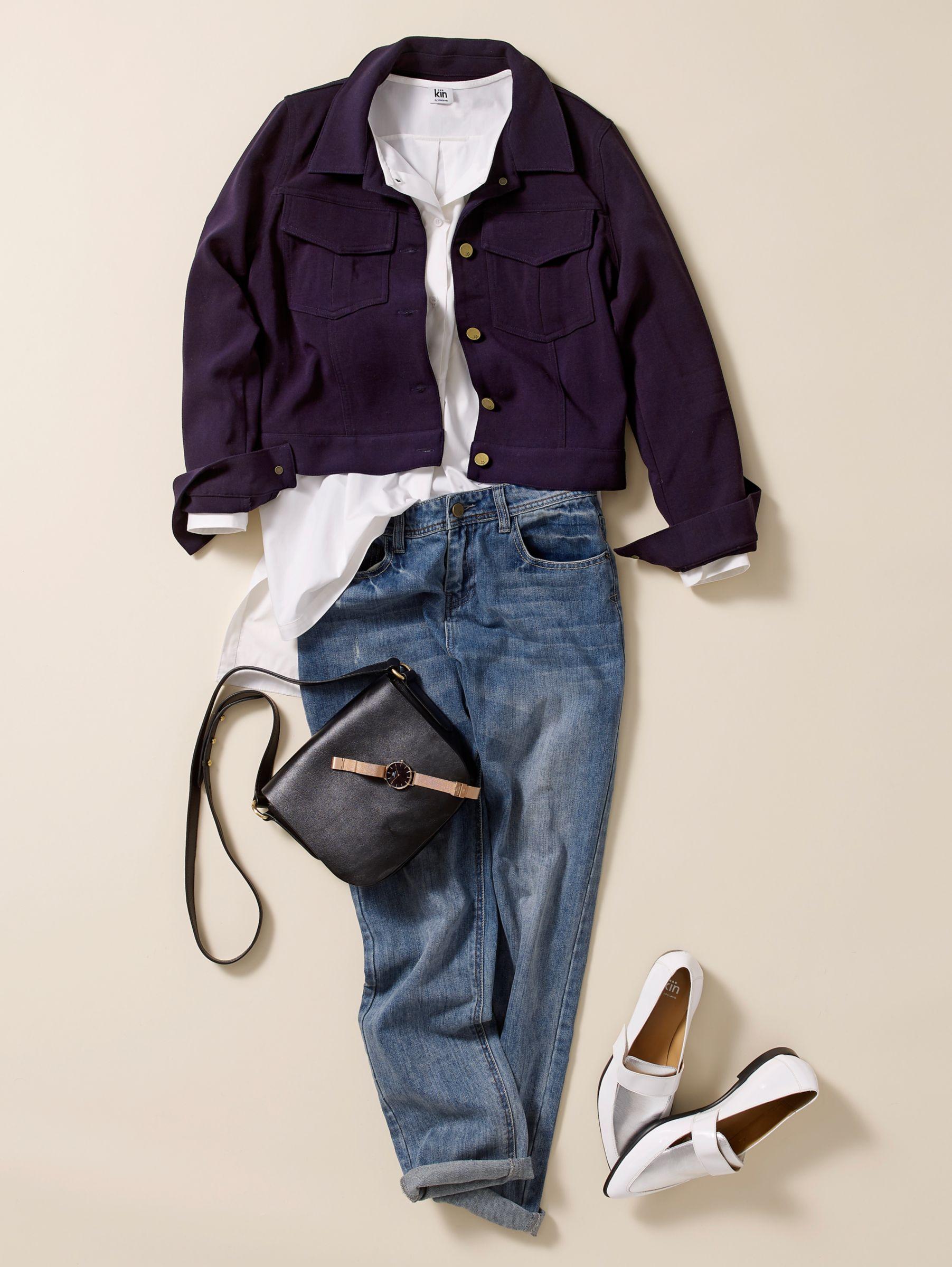 How to wear boyfriend jeans in the day