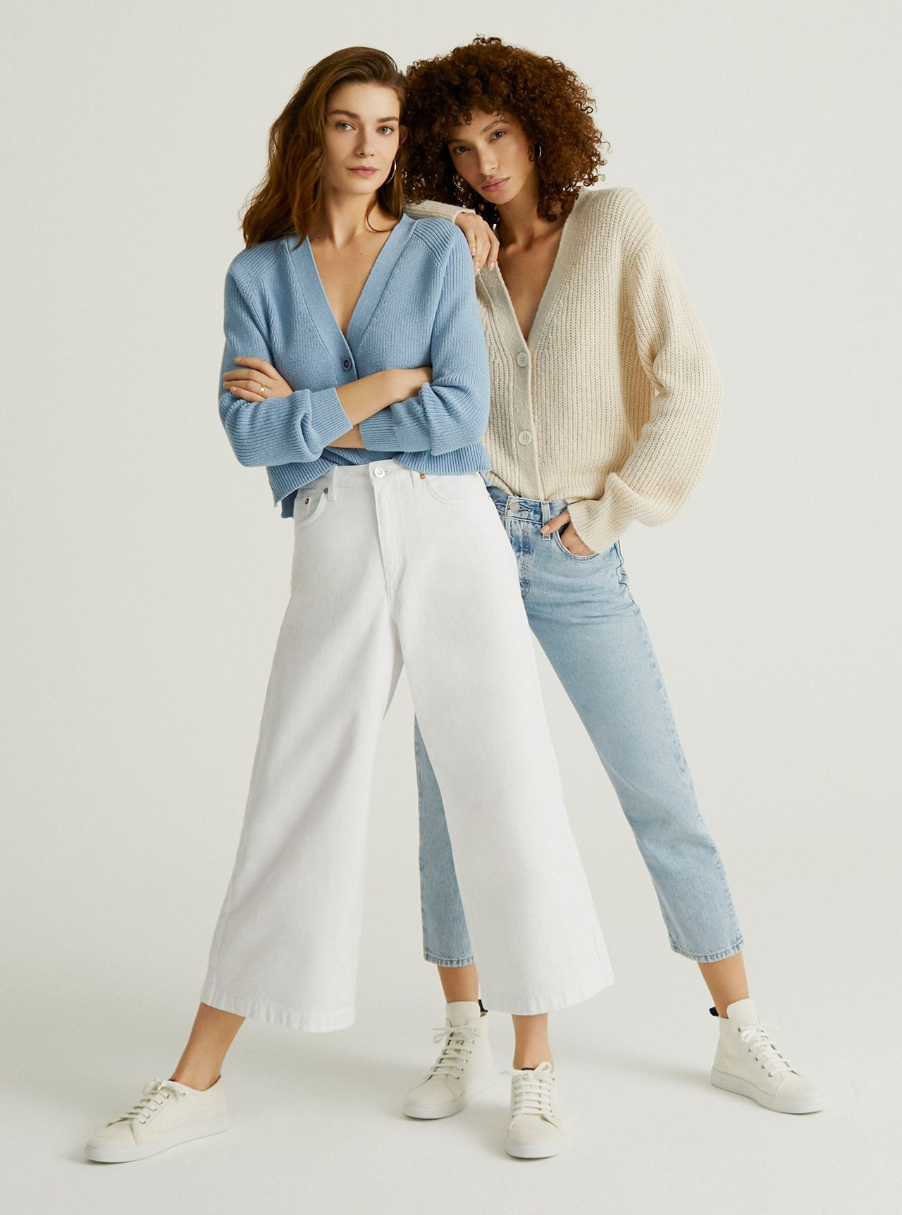 John Lewis & Partners Demin - The Wide Legged Jean