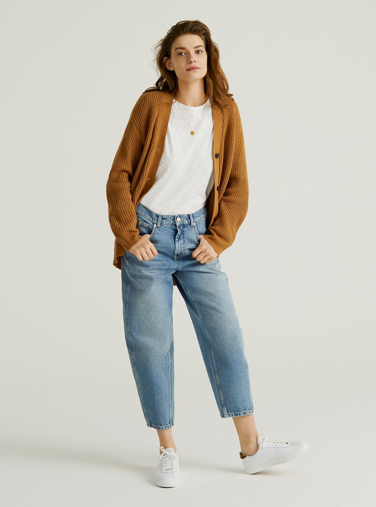 John Lewis & Partners Denim - The Barrel Leg Jean