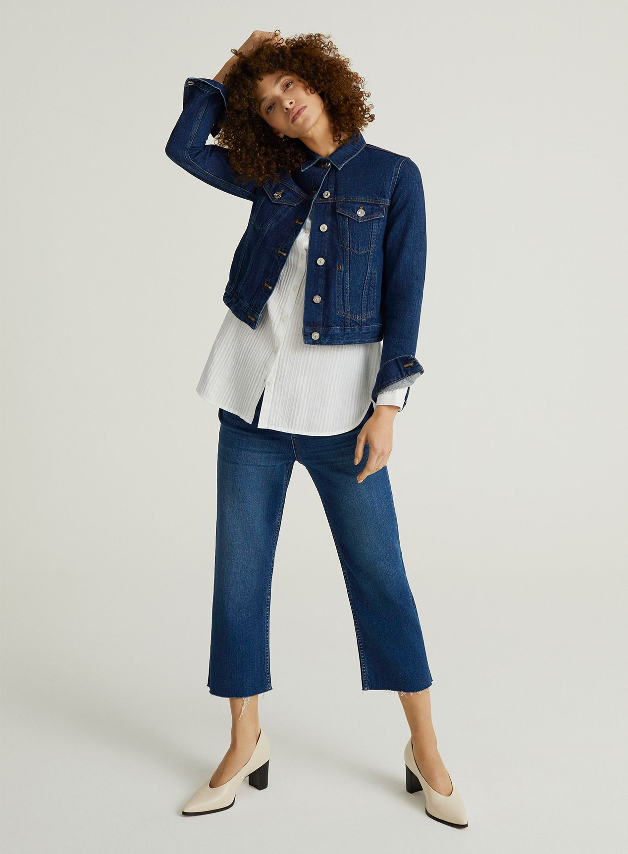 John Lewis & Partners Denim - The Cropped Jean
