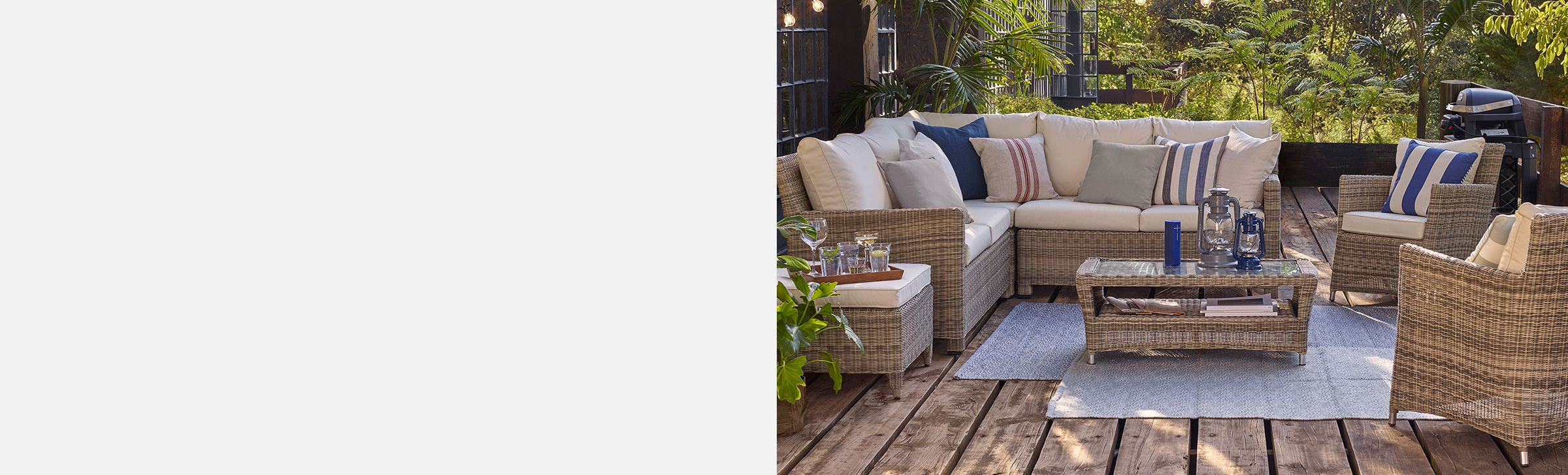 NEW GARDEN FURNITURE SETS