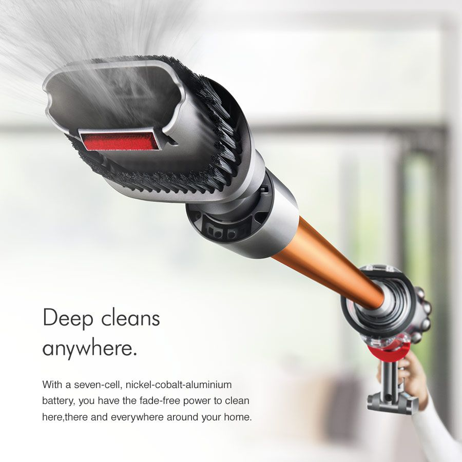 Dyson vacuum deep cleanse anywhere