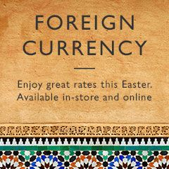 For all your foreign currency needs
