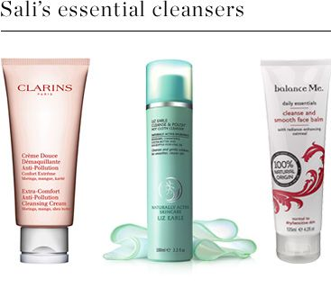 Sali's essential cleansers