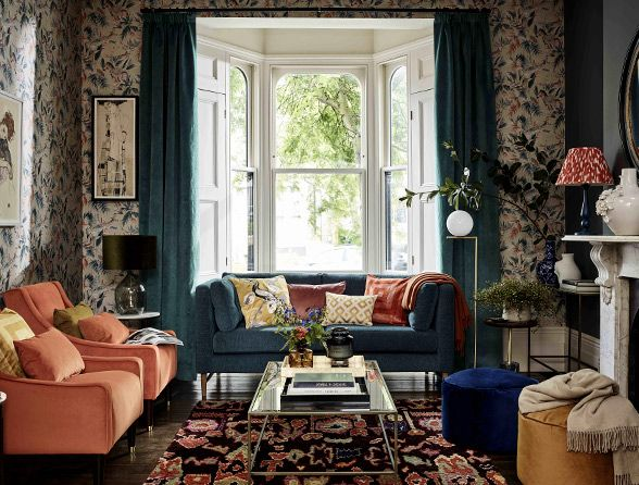 Colourful Eclectic Interiors Inspiration
