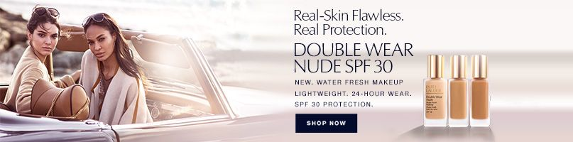 Estee Lauder - Real-Skin Flawless. Real Protection. Double Wear Nude SPF 30